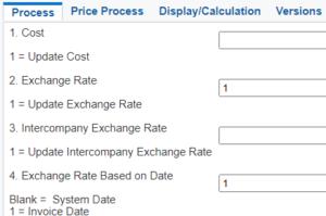 Flexibilité sur actualisation taux de change