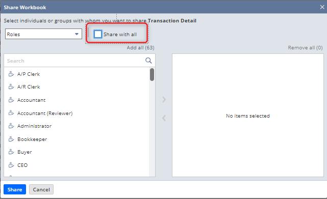 Workbook NetSuite release 2020.2