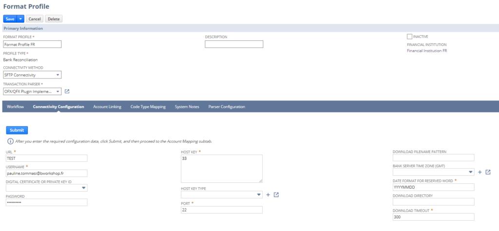 Import automatique des relevés bancaires | NetSuite release 2020.2