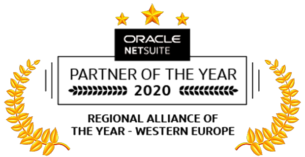 b.workshop receives the NetSuite Western European Partner of the Year Award