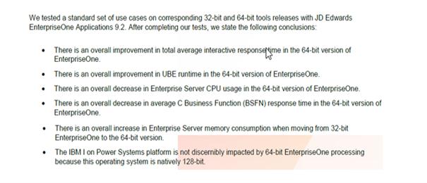 Pourquoi le Tools Release 64 Bits ?