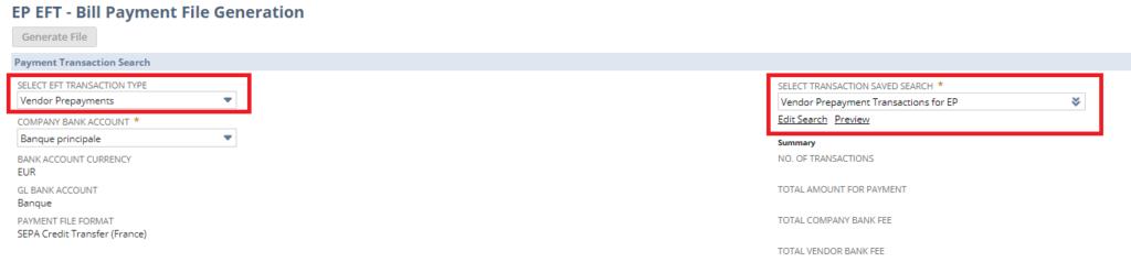 NetSuite 2021.1 acompte
