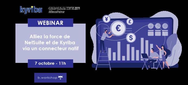 Webinar Kyriba | NetSuite